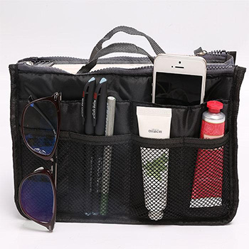 Cosmetic/Purse Organizer Bag - 10 Colors $9.99 with FREE Shipping!